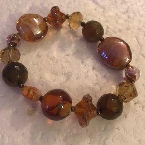 Vintage Murano glass bracelet
